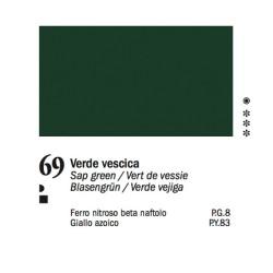 69 - Ferrario Olio Van Dyck Verde vescica - tubo 60ml