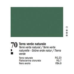 70 - Ferrario Olio Van Dyck Terra verde naturale - tubo 60ml