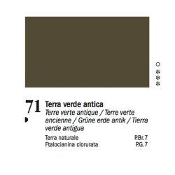 71 - Ferrario Olio Van Dyck Terra verde antica - tubo 60ml