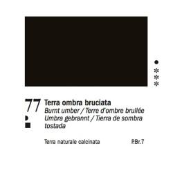 77 - Ferrario Olio Van Dyck Terra d'ombra bruciata - tubo 60ml