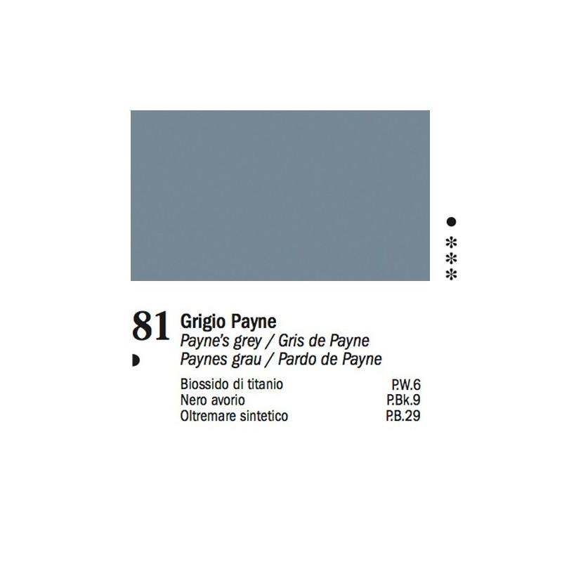 81 - Ferrario Olio Van Dyck Grigio di Payne