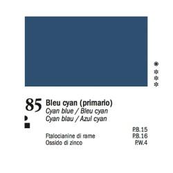 85 - Ferrario Olio Van Dyck Blu primario cyan - tubo 60ml