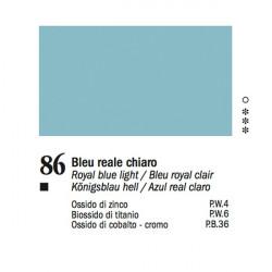 86 - Ferrario Olio Van Dyck Blu reale chiaro - tubo 60ml
