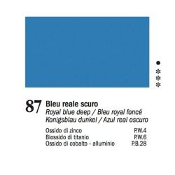 87 - Ferrario Olio Van Dyck Blu reale scuro - tubo 60ml