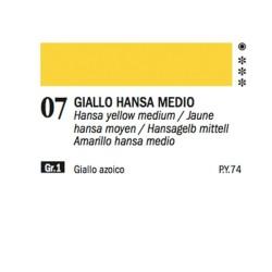 07 - Ferrario Olio Alkyd Giallo Hansa medio