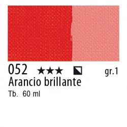 052 - Maimeri Brera Acrylic Arancio brillante