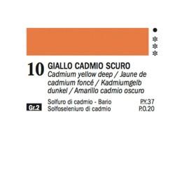 10 - Ferrario Olio Alkyd Giallo di cadmio scuro