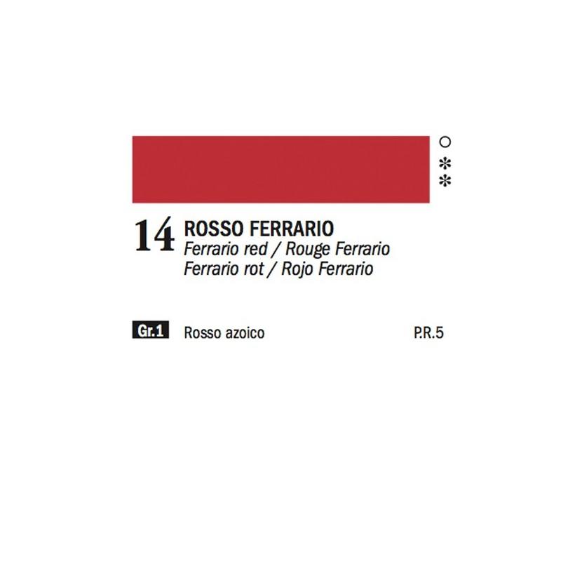 14 - Ferrario Olio Alkyd Rosso Ferrario