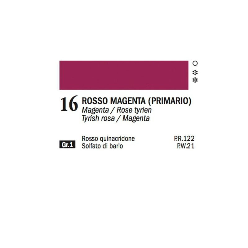 16 - Ferrario Olio Alkyd Rosso magenta