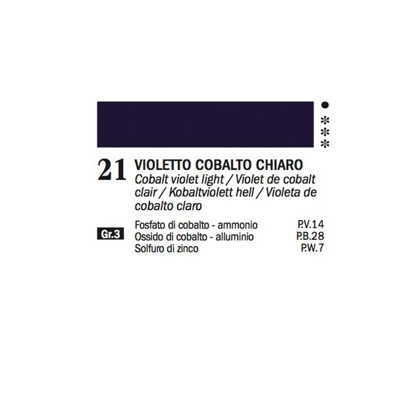 21- Ferrario Olio Alkyd Violetto di cobalto chiaro