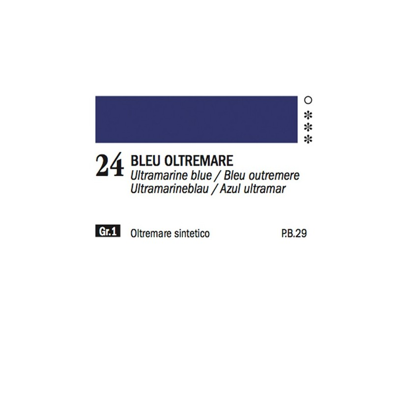 24 - Ferrario Olio Alkyd Blu oltremare