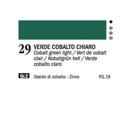 29 - Ferrario Olio Alkyd Verde di cobalto chiaro