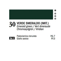 30 - Ferrario Olio Alkyd Verde smeraldo