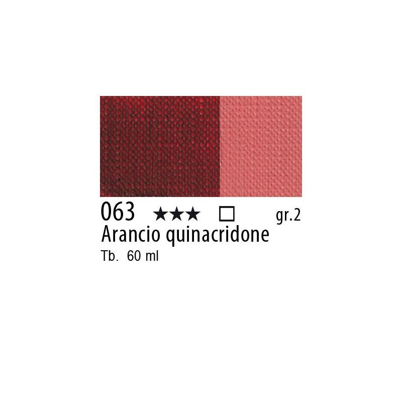 063 - Maimeri Brera Acrylic Arancio quinacridone
