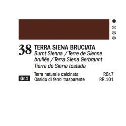 38 - Ferrario Olio Alkyd Terra di Siena bruciata