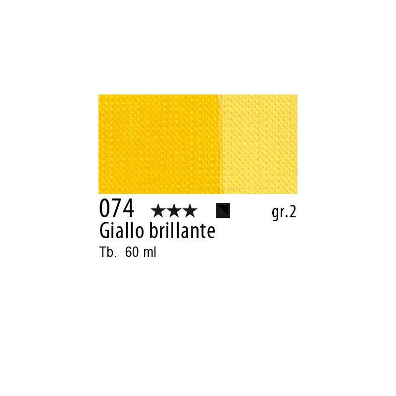 074 - Maimeri Brera Acrylic Giallo brillante