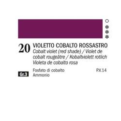 20- Ferrario Olio Alkyd Violetto di cobalto rossastro