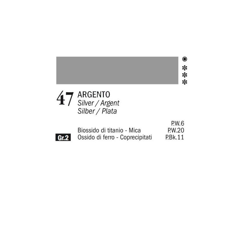 47 - Ferrario Olio Alkyd Argento