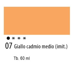 07 - Ferrario Olio Idroil Giallo di cadmio medio