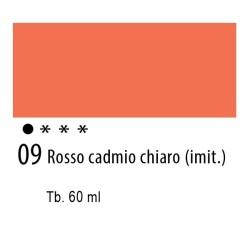 09 - Ferrario Olio Idroil Rosso di cadmio chiaro