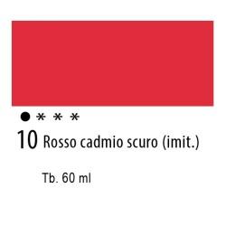 10 - Ferrario Olio Idroil Rosso di cadmio scuro