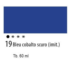 19 - Ferrario Olio Idroil Blu di cobalto scuro