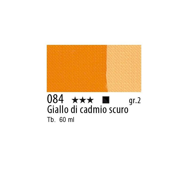 084 - Maimeri Brera Acrylic Giallo di cadmio scuro
