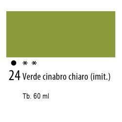 24 - Ferrario Olio Idroil Verde cinabro chiaro