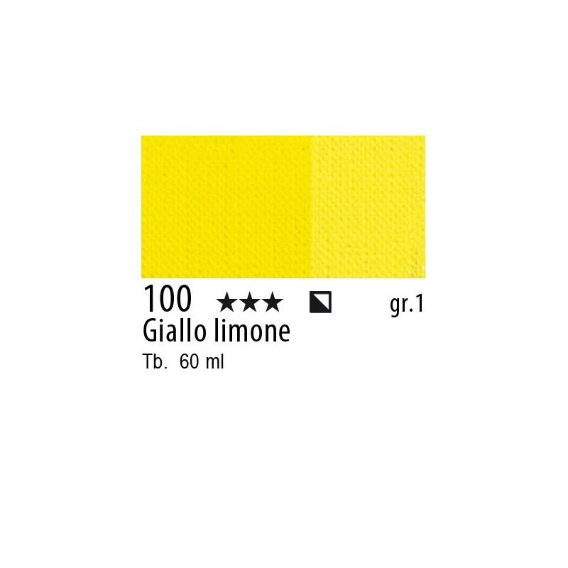 100 - Maimeri Brera Acrylic Giallo limone