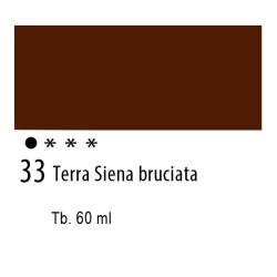 33 - Ferrario Olio Idroil Terra di Siena bruciata