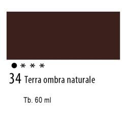 34 - Ferrario Olio Idroil Terra d'ombra naturale