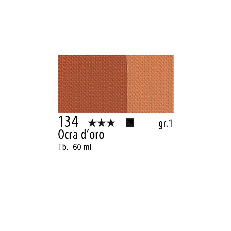 134 - Maimeri Brera Acrylic Ocra d'oro