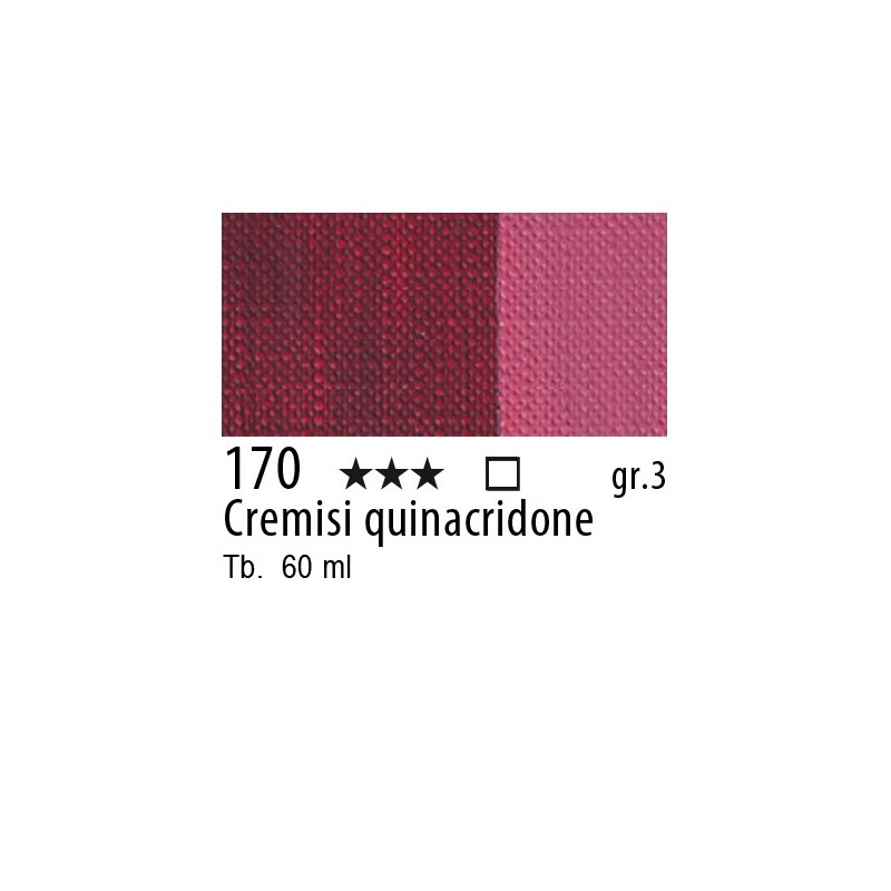 170 - Maimeri Brera Acrylic Cremisi quinacridone
