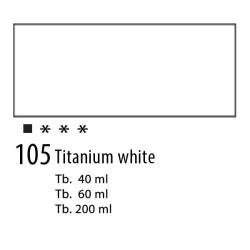 105 - Olio Van Gogh Bianco di titanio