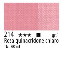 214 - Maimeri Brera Acrylic Rosa quinacridone chiaro