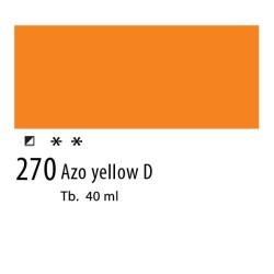 270 - Olio Van Gogh Giallo azoico scuro