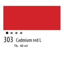 303 - Olio Van Gogh Rosso di cadmio chiaro