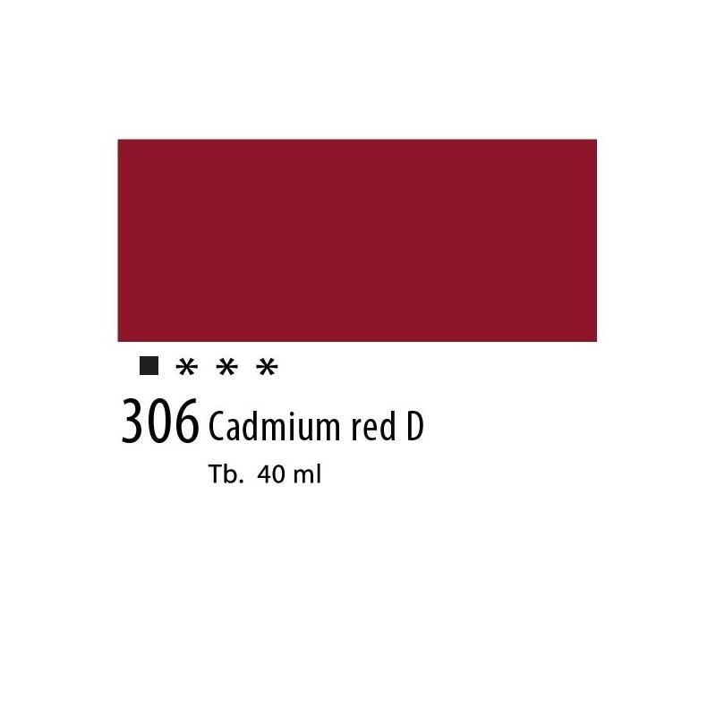 306 - Olio Van Gogh Rosso di cadmio scuro