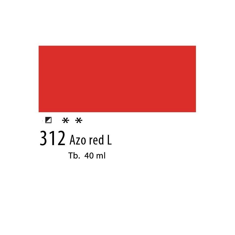 312 - Olio Van Gogh Rosso azoico chiaro