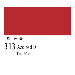 313 - Olio Van Gogh Rosso azoico scuro