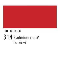 314 - Olio Van Gogh Rosso di cadmio medio