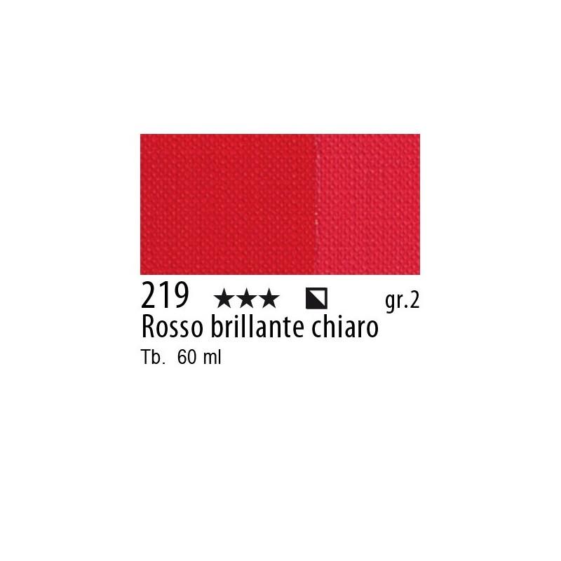 219 - Maimeri Brera Acrylic Rosso brillante chiaro