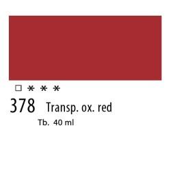 378 - Olio Van Gogh Rosso ossido trasparente