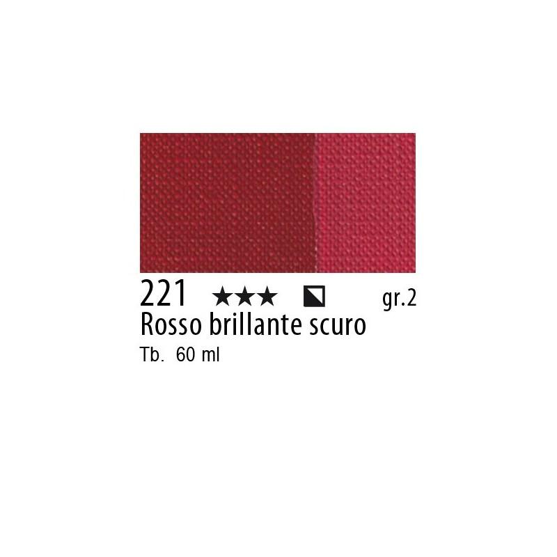 221 - Maimeri Brera Acrylic Rosso brillante scuro