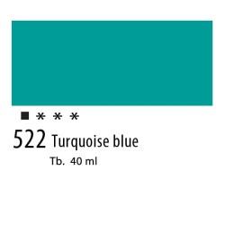 522 - Olio Van Gogh Blu turchese