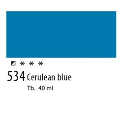 534 - Olio Van Gogh Blu ceruleo