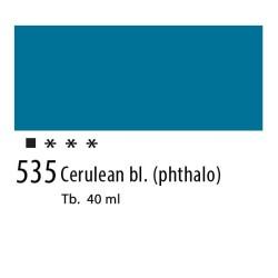 535 - Olio Van Gogh Blu ceruleo ftalo