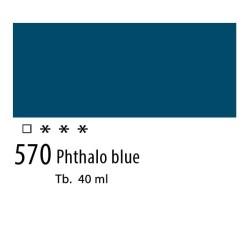 570 - Olio Van Gogh Blu ftalo