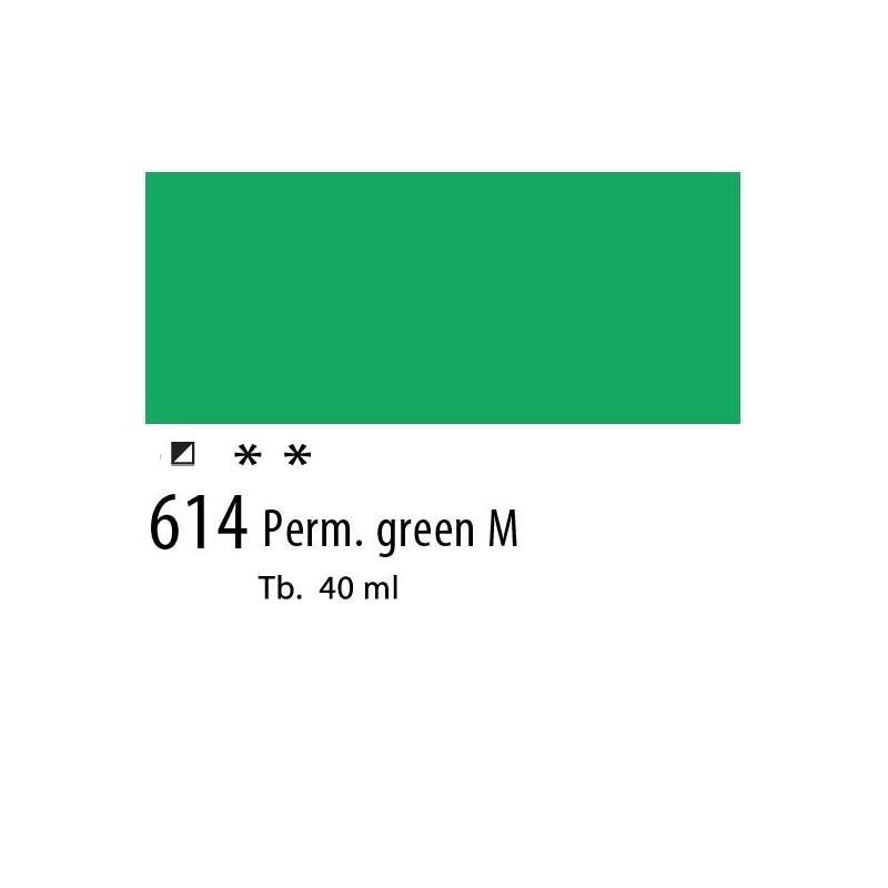 614 - Olio Van Gogh Verde permanente medio