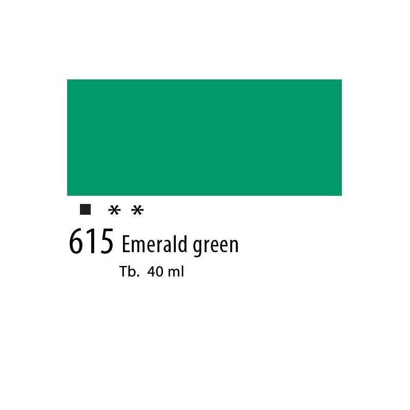 615 - Olio Van Gogh Verde smeraldo